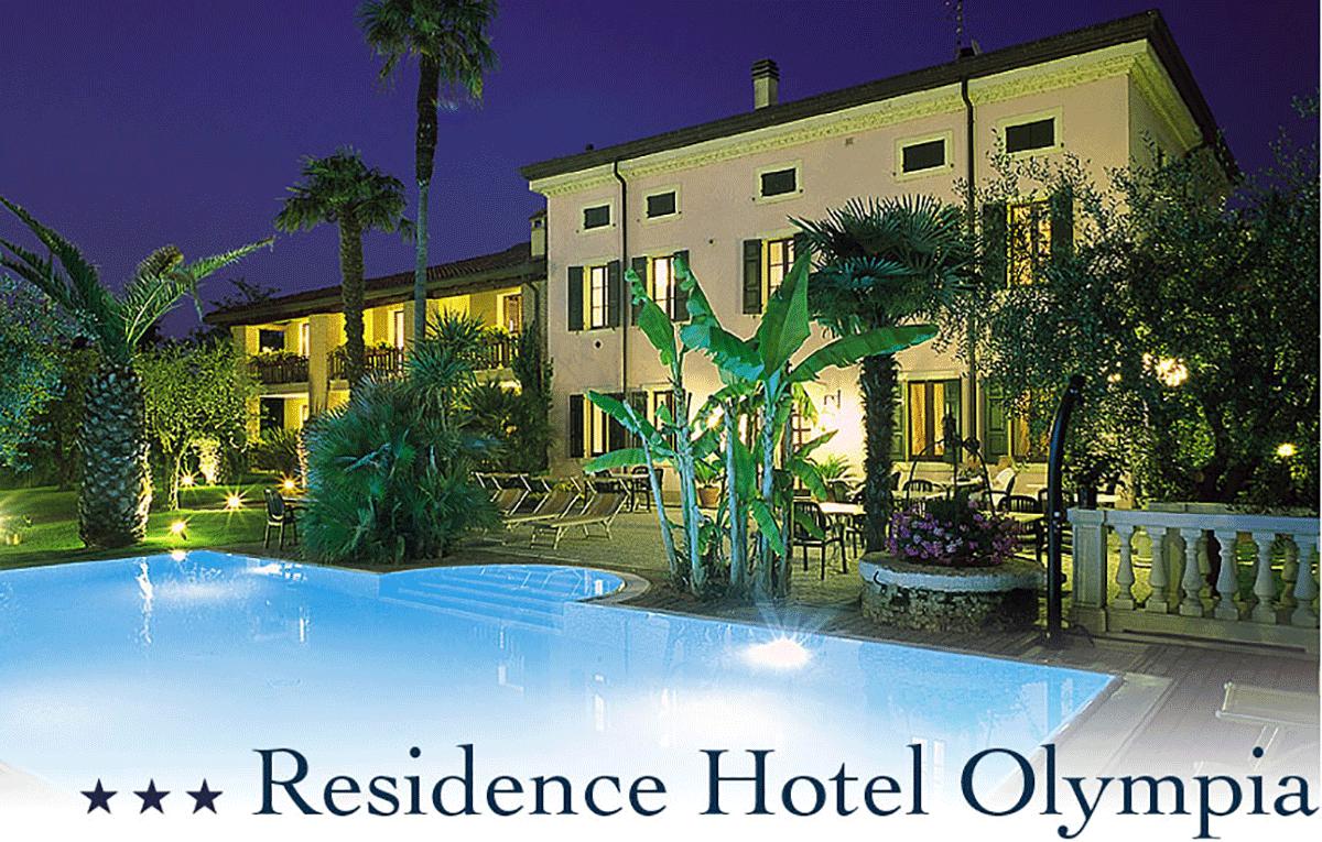 Hotel Olympia - in der Nähe des Strandes und der Altstadt Lazise